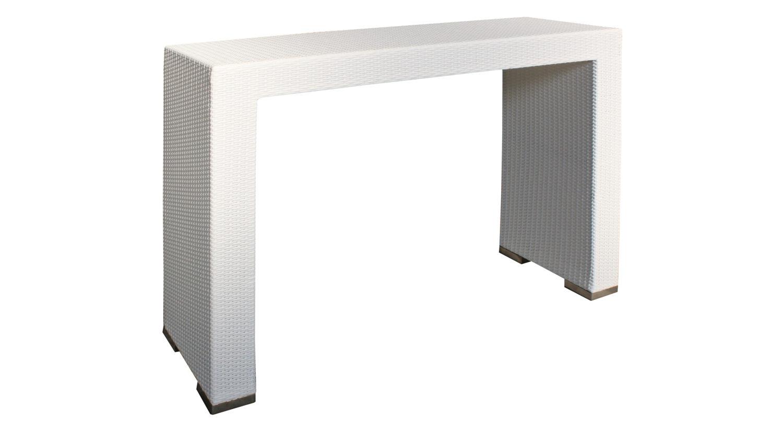 Tavolo alto da bar e bistrot in polyrattan insula - Tavolo alto bar ...
