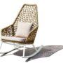 Kos rocking chair beige